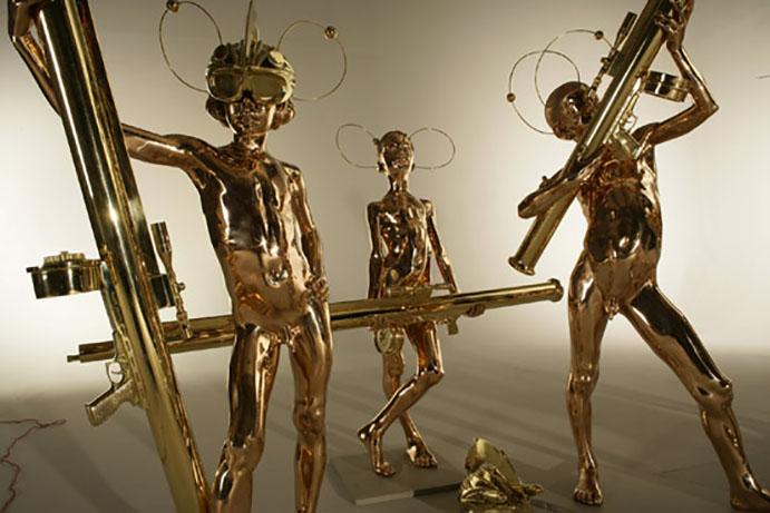 Action Half Life Sculpture: 5 Warriors